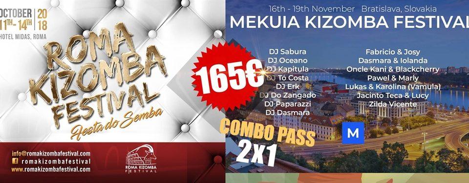 Combo pass with Rome Kizomba Festival 11. Oct – 15. Oct